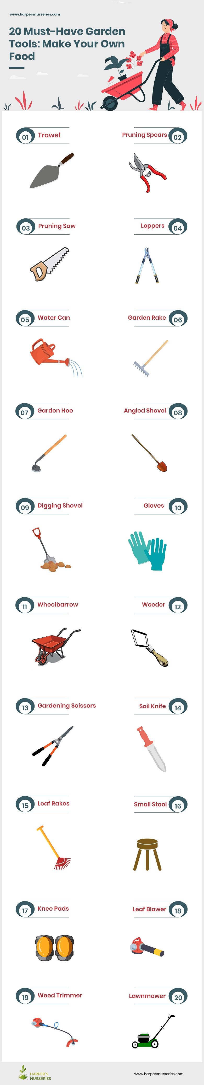20 Must Have Garden Tools Make Your Own Food