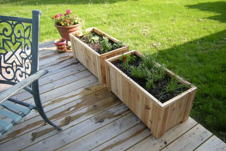 What Are Planter Boxes?