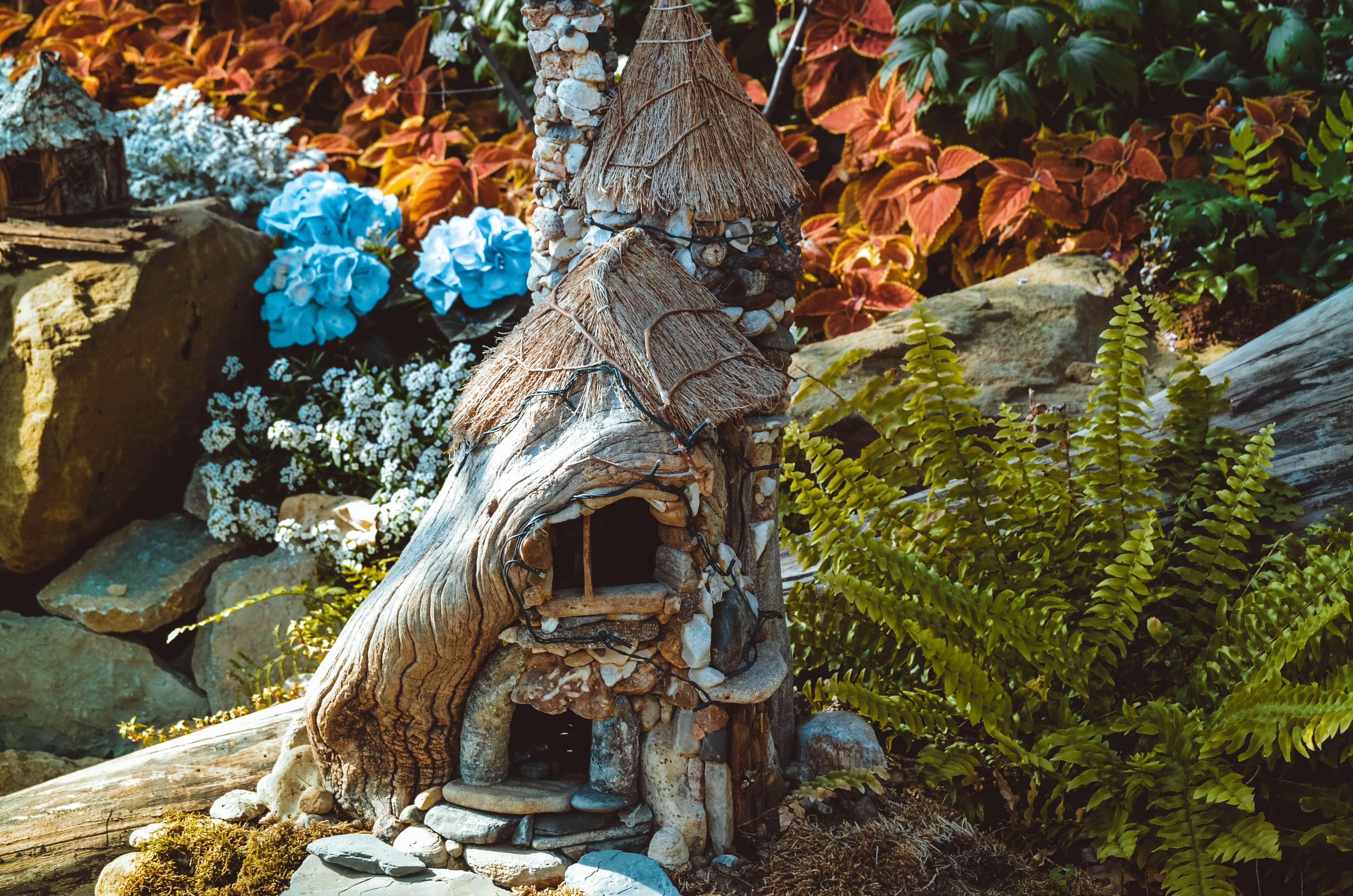 Designer fairy garden